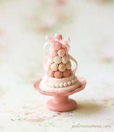 Casa de muñecas en miniatura alimentos  por miniaturepatisserie, $98.90