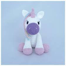 Chaveiro Unicórnio Em Crochê Amigurumi - R$ 15,00 em Mercado Livre   225x225