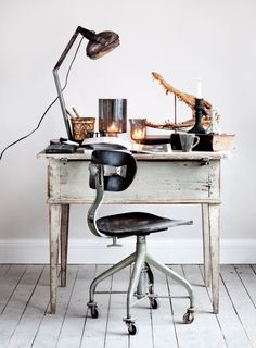 The art of modern living - Industrial furniture and rustic textures.  ©Photography Sara Svenningrud ©Styling Marie Olsson Nylander
