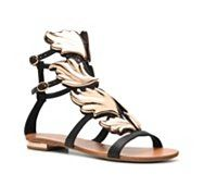 Talk about real gladiator sandals!