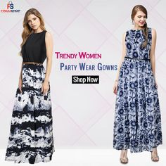 #womensfashion #partywear  #westernfashion Party Wear For Women, Ladies Party, Stylish Gown, Traditional Gowns, Ethnic Gown, Designer Gowns, Shop Now, Womens Fashion, Skirts
