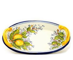 258  ARANCI: Oval bowl double handles[#3807-ARA]