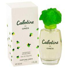CABOTINE by Parfums Gres Eau De Toilette Spray 1 oz - Natural Peach naturalpeach.com