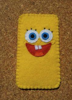Keçe telefon kılıfı Felt Phone Cases, Felt Case, Cellphone Case, Felt Diy, Felt Crafts, Paper Crafts, Diy Crafts To Sell, Crafts For Kids, Pochette Portable