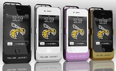 iPhone Stun Gun Case and Emergency Charger by Yellow Jacket (+VIDEO). Innovative technology design. Read more at jebiga.com