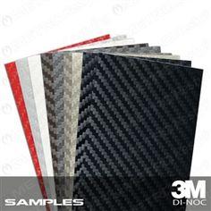 Carbon Fiber Wrap Vinyl Sample