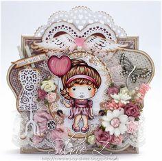 La-La Land Crafts - HEART BALLON MARCI ♥♥