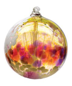 Another great find on #zulily! Pink Spring Fairy Orb Ornament #zulilyfinds
