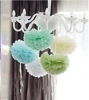 awesome chandelier idea for baby shower. Use blue for boys or pink for girl!