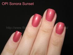 OPI Sonora Sunset -