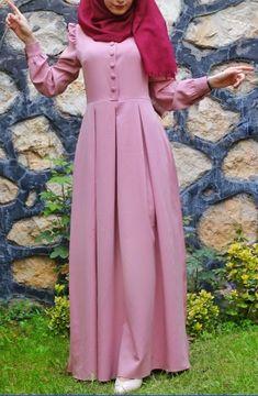 Dress Hijab Gowns Modest Fashion 52 Ideas For 2019 Abaya Fashion, Modest Fashion, Girl Fashion, Muslim Women Fashion, Islamic Fashion, Mode Abaya, Mode Hijab, Hijabi Gowns, Hijab Style Dress