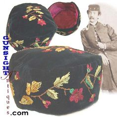 Civil War era SMOKING CAP - I think you should get Dave to make you one!