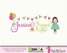 Balloon Logo Design Party Logo Design Graphic Design Bespoke Logo ...