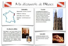 """Cartes """"A la découverte des régions françaises"""""""