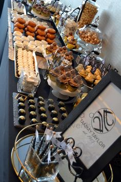 Boksomdaais Boutique Events - Home Gold Dessert Table, South African Dishes, Buffet, Amp, Breakfast, Black Gold, Henna, Desserts, Food