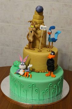 Gateau baby looney toons
