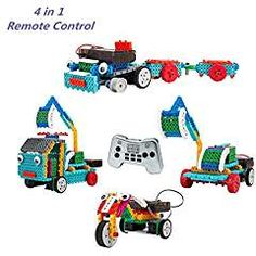 MyNice 4 in 1 Remote Control Building Kits Kids DIY Toy with the Wireless Remote(127 PCS). * Want additional info? Click on the image. We are a participant in the Amazon Services LLC Associates Program, an affiliate advertising program designed to provide a means for us to earn fees by linking to Amazon.com and affiliated sites.