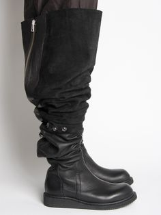 Oki-ni Blog: Rick Owens SS11 Leather BOOTS