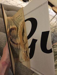 book folding - see-saw