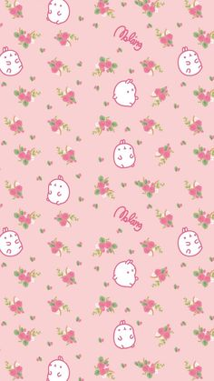 ✿Duitang:~ Molang Roses iPhone Wallpaper✿