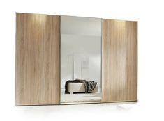 Schiebetürenschränke schlafzimmer ~ Einbauschrank mit griffmulden schlafzimmer matter schichtstoff