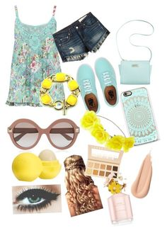 """""""Spring"""" by daniellewada ❤ liked on Polyvore featuring M&Co, rag & bone/JEAN, Vans, Marc Fisher, Valentino, Eos, LORAC, Charlotte Russe, Marc Jacobs and women's clothing"""