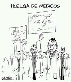 Huelga de médicos  via @notemates