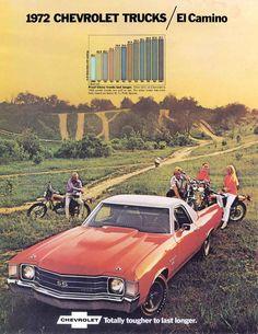 1972 El Camino Ad