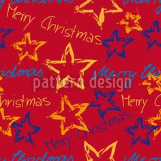 Merry Christmas designed by Susanne Jocham, vector download available on patterndesigns.com