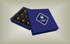 Çikolata Tatlı Kutuları Tasarım ve İmalat baskı