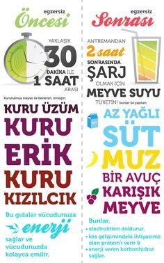 EGZERSİZ ÖNCESİ VE SONRASI ÖNERİLERİ! www.lifefitness-turkey.com