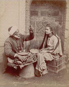 Le marchand Algérie 1900
