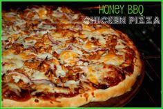 Whole Wheat Honey BBQ Chicken Pizza