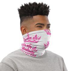 Pink Crown Neck Gaiter