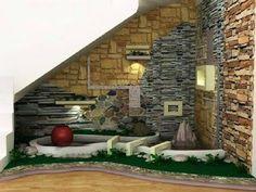 Under Stair Garden Ideas   Home Interior Designs