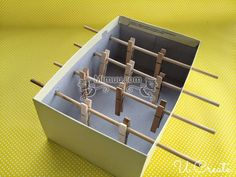 DIY Mini Langırt Masası 3