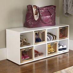 ClosetMaid 8 Pair Shoe Rack is part of Shoe Organization DIY - 8 Pair Shoe Rack, Diy Shoe Rack, Shoe Racks, Shoe Storage Cabinet, Bench With Shoe Storage, Coat Storage, Dvd Storage, Shoe Bench, Shoe Organizer