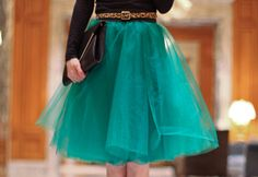 DIY Projects for Teen Girls to Make in Under an Hour - Easy Tulle Skirt Sewing Tutorial - DIY Projects & Crafts by DIY JOY