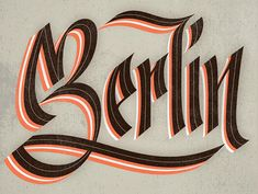 Lettering Workshop in Berlin — Studio Martina Flor Calligraphy Letters, Typography Letters, Typography Logo, Graphic Design Typography, Logos, Types Of Lettering, Lettering Styles, Lettering Design, Creative Lettering