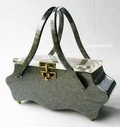 Vintage Purses, Vintage Bags, Vintage Handbags, Fabric Handbags, Purses And Handbags, Ralph Lauren Handbags, Soft Leather Handbags, Unique Handbags, Luxury Bags