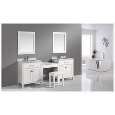 espresso vanity set with bench. Best Deal  Design Element Two London 30 Single Sink Vanity Set in White and 90 inch Espresso Brown with