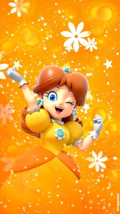 Princess Daisy Wallpaper!! 💛🌼💛 #supermario #princessdaisy #WeAreDaisy