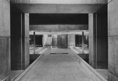Nuffield Transplantation Surgery Unit, Western General Hospital, Edinburgh, Scotland, 1964 (Peter Womersley)