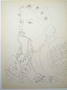 Woman in Russian Blouse II, by Matisse.