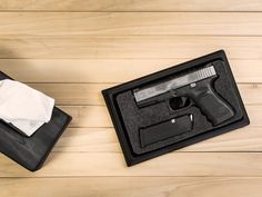 The folks at Tactical Walls have a gift for hiding firearms right under your nose (you'll get that joke in a moment). Their newest discreet firearm storage product is the Issue Box, a cleverly desi...