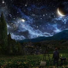 Starry Night Come to Life