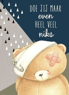 Beterschap Happy Birthday Forever Friend, Friends Forever, Hello Kitty Plush, Bear Cartoon, Tatty Teddy, Happy B Day, Wedding Quotes, Cute Bears, Christmas Wishes