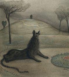 Alfred Kubin, pinturas