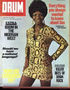 Ebony Magazine Cover, Black Magazine, Magazine Covers, African Life, African History, Drum Magazine, Drum Cover, Vintage Drums, Vintage Black Glamour