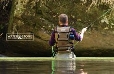 Water & Stone | Fly Fishing Backpack by Brent Radewald, via Behance